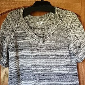 Cabi marled knit sweater